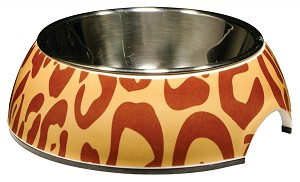 CATIT Style 2 in 1 Cat Dish with pattern