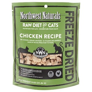 Northwest Cat Chicken Freeze Dried Nibbles 11oz