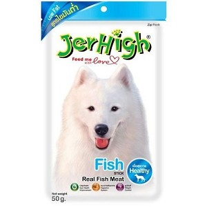 Jerhigh Fish Stick Dog Treat