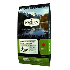 Kasiks Free-Run Grain Free Chicken Meal Dry Dog Food