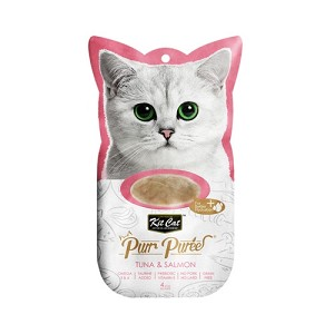 KitCat Purr Puree Tuna & Salmon (4 x 15g)