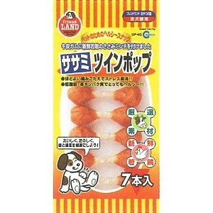 Marukan Sasami Twin Pop Dog Treat 7pcs