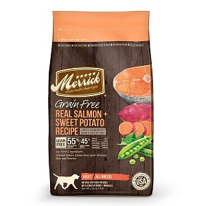 Merrick Salmon Grainfree dry food