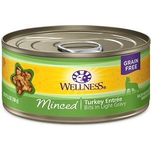 Wellness Canned Cat Complete Health™ Minced Turkey Entree