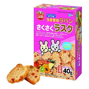 Minimal Land Rabbit Crunchy Rusk with Fruits