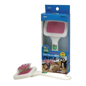 Marukan Rabbit Soft Slicker Brush