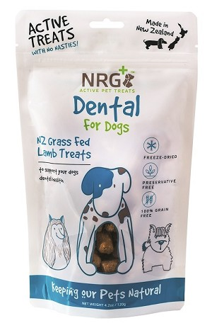 NRG + Active Pet Treats For Dental Health