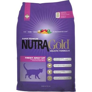 Nutra Gold Holistic Finicky Adult Dry Cat Food