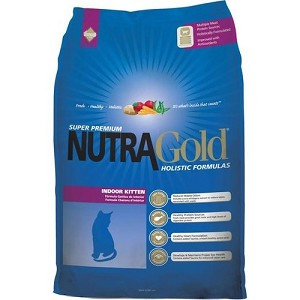 Nutra Gold Holistic Indoor Kitten Dry Cat Food