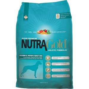 Nutra Gold Holistic Salmon & Potato Dry Dog Food