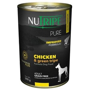Nutripe Pure Canned Chicken & Green Tripe 390gm