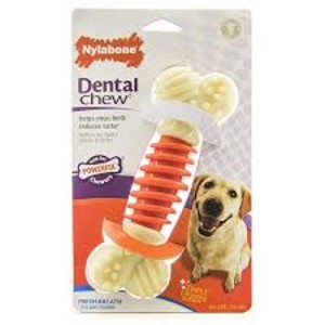 Nylabone Small Bacon Flavoured PRO Action Dental Chew Toy