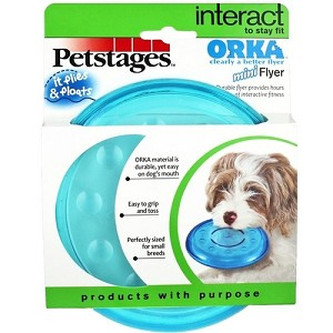 Petstages Mini ORKA Flyer Toy