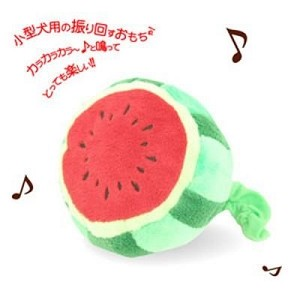 Petz Route Rattling Musical Watermelon Plush Toy