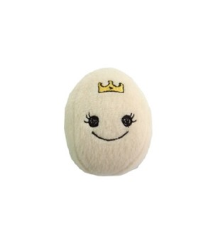 Petz Route White Princess Egg Plush Toy
