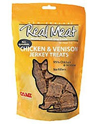 Canz Real Meat Cat Chicken & Venison Jerky