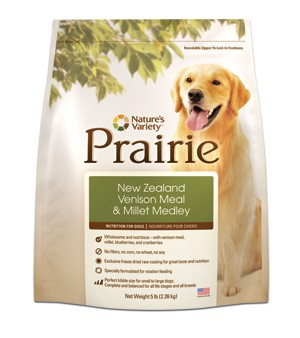 Prairie Dog New Zealand Venison Meal & Millet Kibbles