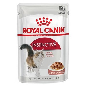 Royal Canin Feline Health Nutrition Instinctive Pouch Cat Food 85gm x 12 pouches