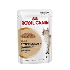 Royal Canin Feline Health Nutrition Intense Beauty Pouch Cat Food 85gm x 12 pouches