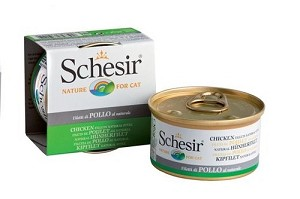 Schesir Canned Chicken Fillet in Water Cat Food