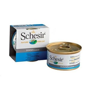 Schesir Canned Tuna in Water Cat Food
