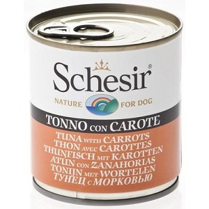 Schesir Canned Tuna with Carrots