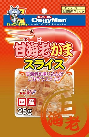 DoggyMan Shrimp Slice For Cats 81211