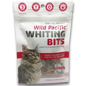 Snack 21 Wild Pacific Whiting Bits Cat Treats