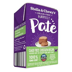 Stella & Chewy's Purrfect Pate Cage-Free Chicken Recipe 5.5oz