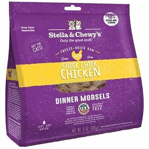 Stella & Chewy's Freeze Dried Chick Chick Chicken Dinner Morsels Cat Food