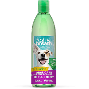 Tropiclean Fresh Breath Water Additive + Hip&Joint