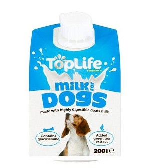 Top Life Goat's Milk for Dogs 200gm