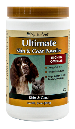 NaturVet Ultimate Skin and Coat Supplement