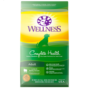 [UP TO 30% OFF w/ FREE GIFT] Wellness Complete Health Adult Lamb & Barley Recipe Dry Dog Food