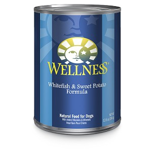Wellness Complete Health, Whitefish & Sweet Potato Formula, Canned Dog Food