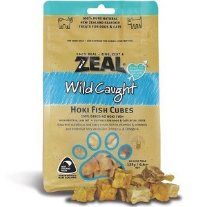 Zeal Free Range Naturals Hoki Fish Cubes Cat & Dog Treats