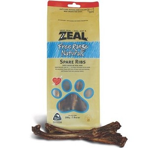 Zeal Free Range Naturals Spare Ribs Dog Treats