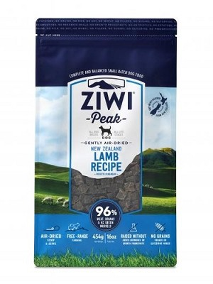 Ziwipeak Air Dried Dog Food Lamb