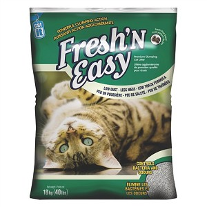 Catit Fresh & Easy Premium Clumping Litter 18kg