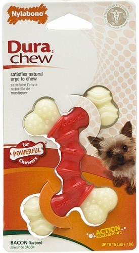 Nylabone DuraChew® Double Bone - Bacon