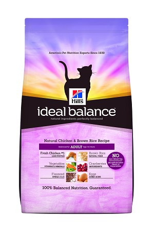 Hill's™ Ideal Balance™ Feline Natural Chicken & Brown Rice Recipe Adult
