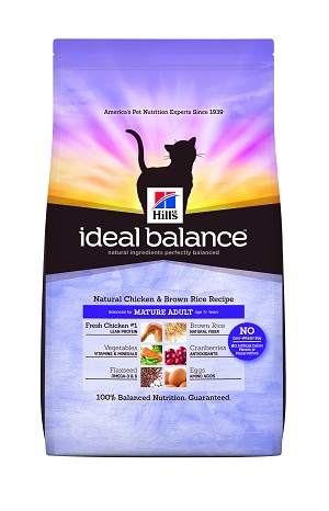 Hill's™ Ideal Balance™ Feline Natural Chicken & Brown Rice Recipe Mature Adult