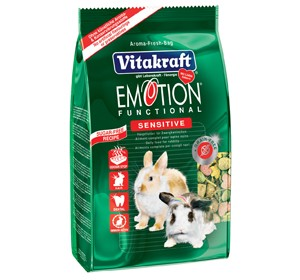 Vitakraft Emotion Rabbit (Sensitive) Pellets (600g)