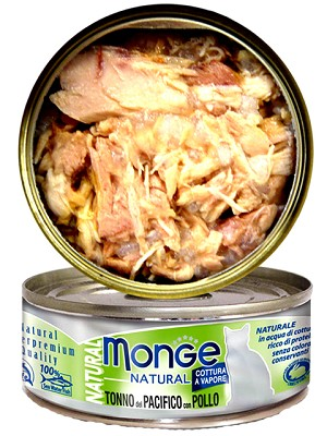 Monge Natural Canned Cat Food