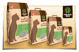 Nature's Eco Recycled Cat Litter