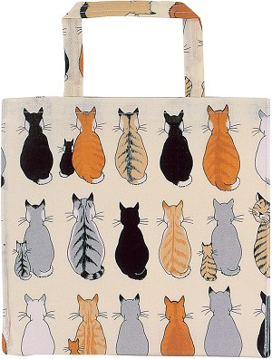 Animal Merchandise Cats in Waiting PVC Small Bag