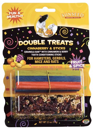 Vitakraft Sunseed Cinnaberry & Sticks for Hamsters & Gerbils