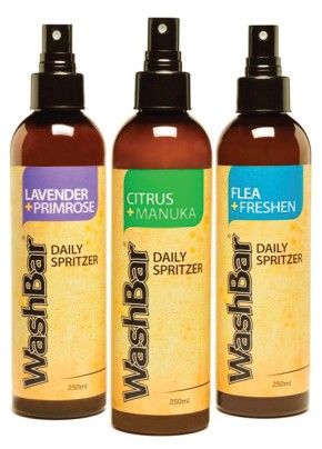 WashBar 100% Natural Daily Spritzers for Dogs