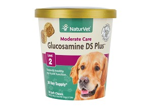 NaturVet Glucosamine DS Plus Level 2 Soft Chew Cup