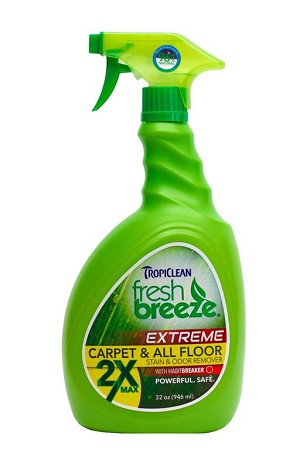 Tropiclean Fresh Breeze Extreme 2x Carpet & All